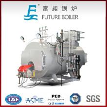 Caldera de vapor automática de gas / aceite de Wns