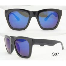 Moda estilo espejo de revestimiento Polarized lentes gafas de sol Tr90 gafas de sol