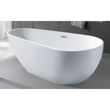 Freestanding Baby Bathtub Acrylic White