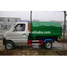 Camión de basura con caja desmontable