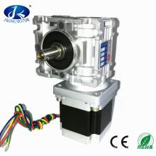 Kleiner Schneckengetriebe-Schrittmotor