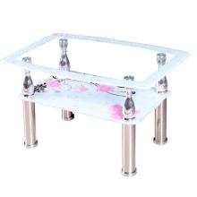 Moderno comedor muebles nuevo vidrio Mesa de centro tabla de té