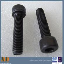 Vis à tête cylindrique à six pans creux en acier au carbone standard