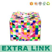 Картонная Упаковка Декоративные Коробки Торта С Пластиковым Окном
