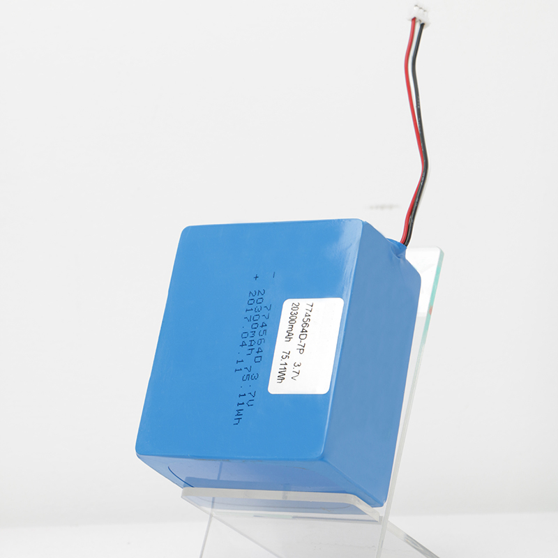 774460 3 7v 20300mah Low Temperature Li Polymer Battery