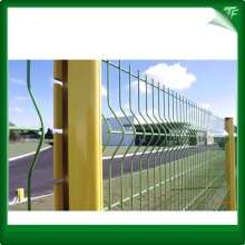 Galvanized yellow peach shaped fencing