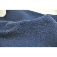 Navy Wolle gekochte Wolle Stoff regelmäßige Strumpf Großhandel