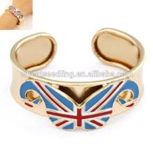 Bracelet en barbe en alliage bracelet en drapeau britannique