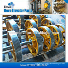 Elevator Cast Iron Pulley/Lift Cast Iron Pulley Sheave/Cast Iron Deflector Sheave