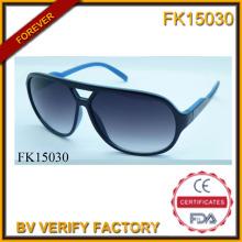 Zwei Farben Nähte PC-Rahmen Sonnenbrillen (FK15030)