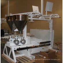 Grande machine de boulangerie de pain de tôle