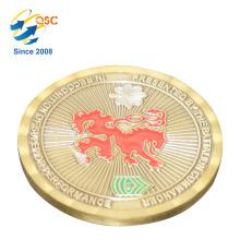 Pièce de monnaie directe d'usine pour la pièce de vente de meilleur souvenir de sports