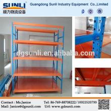 CE Q235B armazenamento resistentes aparafusados estantes de aço