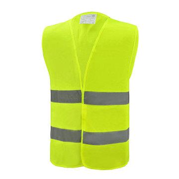 Reflective Safety Vest with 2 horizontal reflective tape