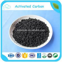 Coluna de carbono ativado de 4,0 mm para filtro de água de carbono ativado