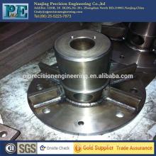 High precision cnc machining welding steel alloy big flange
