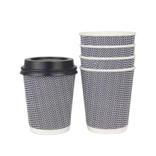 ripple cup paper coffee cup hot cold drink from china