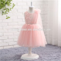 Children Age Group and Casual Style pink color girl princess flower dresses