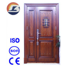 Puerta de madera maciza Meranti