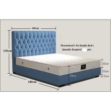 Cama de mobiliário de hotel de alta qualidade