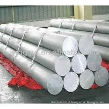 Barra circular de liga de alumínio 6063