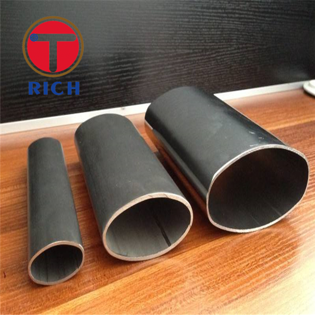 Elliptical Steel Tubes