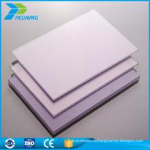 China precio de fábrica primera opción de alta presión de laminado de brillo hoja termoplástica