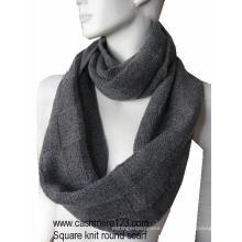 Cashmere Wool Round Scarf