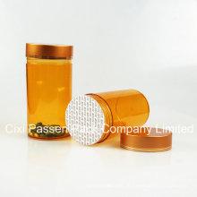 Amber Pet Medicine Flasche für Kapsel Verpackung (PPC-PETM-024)