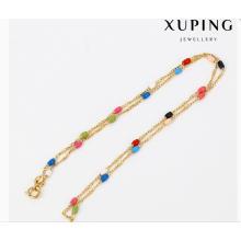 43080 collar de cadena de la joyería chapado en oro del encanto de moda Xuping en ventas calientes