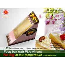 Neueste Fast Food Box Verpackung mit Anti-Fog-Fenster