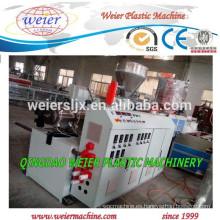 Pipa de squar del PVC que hace la máquina extrusora