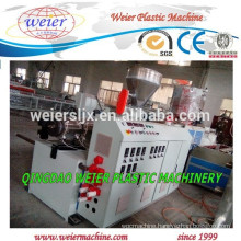 PVC squar pipe making extruder machine