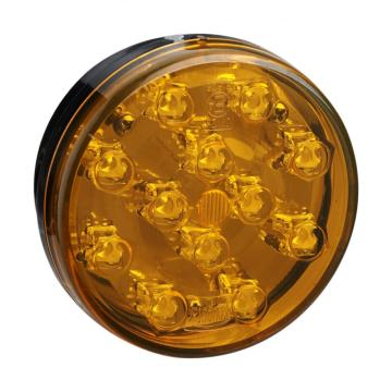 E4 Amber Round LED Trailer Tail Lamps Lámparas