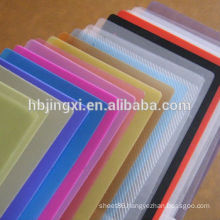 Colored Polyethylene Sheet Polyethylene Plastic Sheet