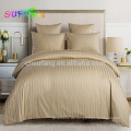 Bettwäsche Marke / Hotel Bettwäsche / Satin Streifen weiß Bettwäsche gesetzt