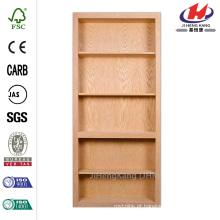 35 in. X 81 in. Mesa de 4 estantes inacabada Maple Interior Door Slab