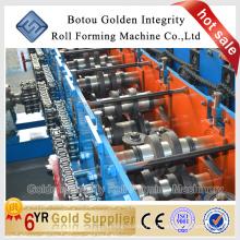 Máquina de formação de cilindro de perfil C / máquina de formação de rolos de aço purlin de aço