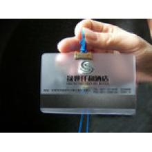 Vea a través de la tarjeta clara de la raya magnética del PVC / de animal doméstico