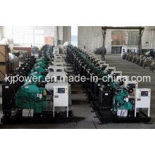 Conjunto de geradores silenciosos de 40kVA Powered by Cummins Diesel Engine