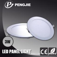 Panneau ultra mince LED avec 3 ans de garantie