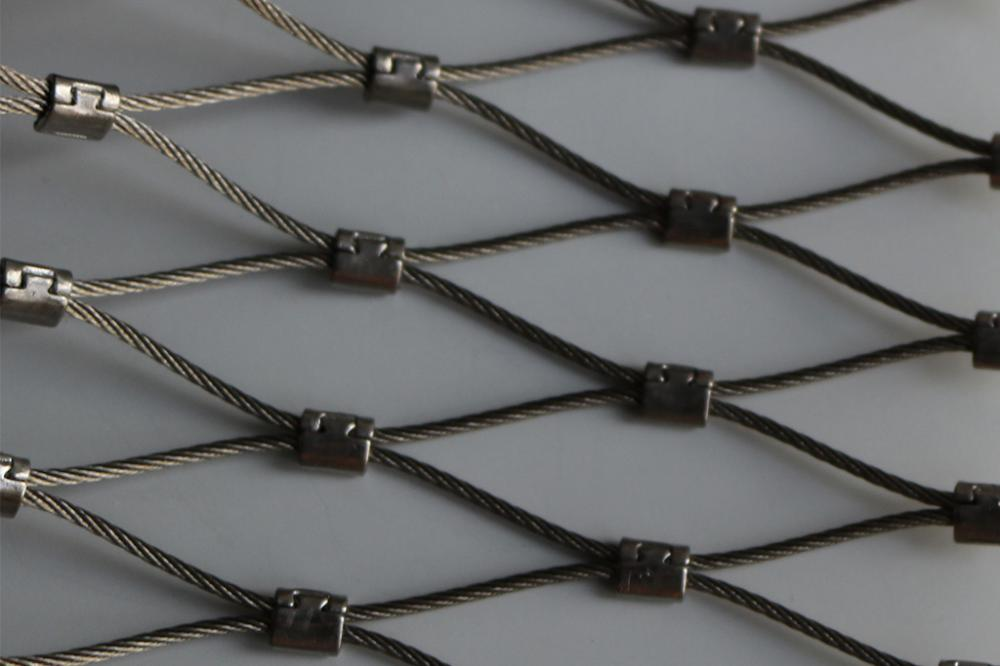 Knutless Flexible X-Tend Stainless Steel Cable Mesh