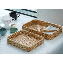 (BC-R1013) Ручная подарочная корзина хорошего качества из ротанга