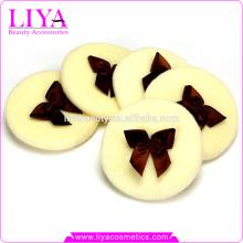 Tissu de coton cosmétique de bonne qualité puff vente chaude