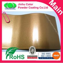 Металлическое золотое порошковое покрытие