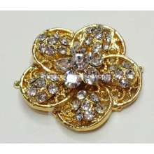 Flower Designs Rhinestone Shoe Clips