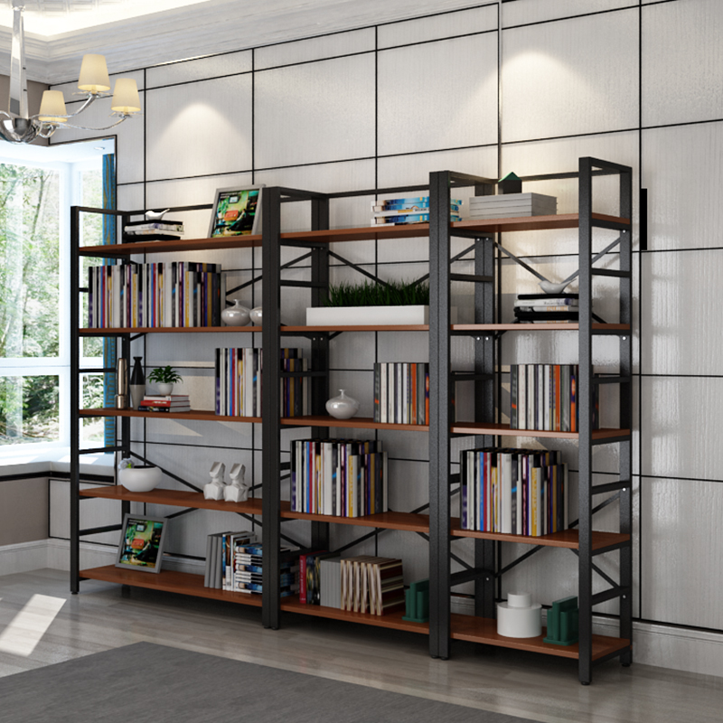 Stable MDF Material Book Display Shelf