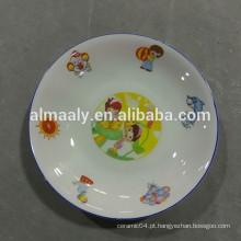 prato de frutas cerâmicas