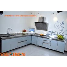Gabinete de Diseño de Cocina Comercial de Acero Inoxidable de Alta Calidad, Muebles, Precios de Equipo de Cocina Caliente, Proyecto de Cocina