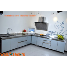 High Quality Stainless Steel Commercial Kitchen Design Cabinet, Furniture, Hot Sale Kitchen Equipment Prices, Kitchen Project